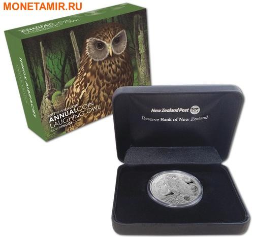 Новая Зеландия 5 долларов 2017 Сова.Арт.000511953982/60 (фото, вид 2)