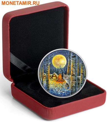 Канада 30 долларов 2017 Рысь в лунном свете.Арт.000753053944/60 (фото, вид 2)