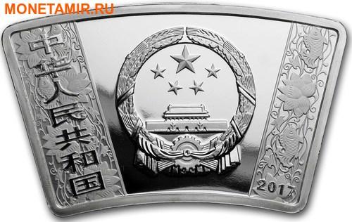Китай 10 юаней 2017 Год Петуха – Лунный календарь (Веер).Арт.000462453947/60 (фото, вид 1)