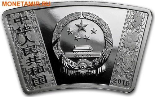 Китай 10 юаней 2016 Год Обезьяны – Лунный календарь (Веер).Арт.000462453946/60 (фото, вид 1)