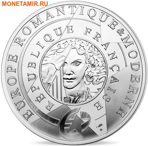 Франция 10 евро 2017 Век железа и стекла – Виктор Гюго Эйфелева башня Свобода ведущая народ.Арт.000268853961/60 (фото, вид 1)