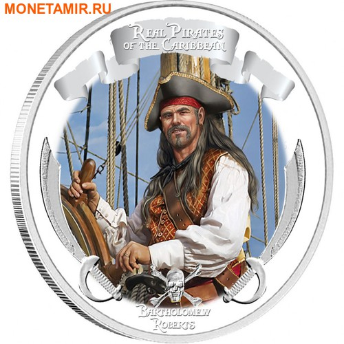 Ниуэ 4х2 доллара 2011 Пираты Карибского Моря.Арт.000978653905/60 (фото, вид 1)