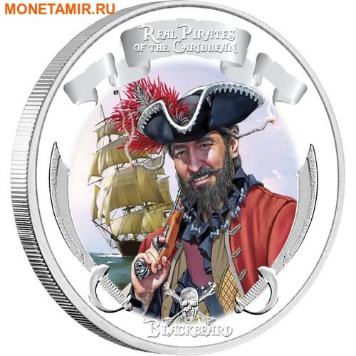 Ниуэ 4х2 доллара 2011 Пираты Карибского Моря.Арт.000978653905/60 (фото, вид 2)
