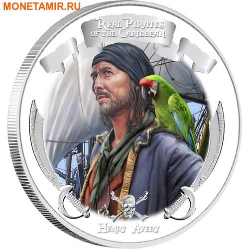 Ниуэ 4х2 доллара 2011 Пираты Карибского Моря.Арт.000978653905/60 (фото, вид 3)