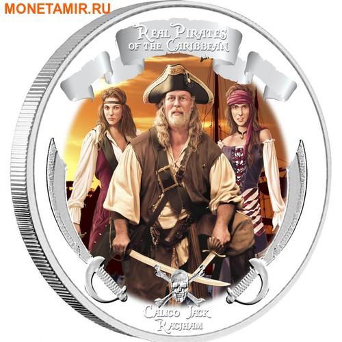 Ниуэ 4х2 доллара 2011 Пираты Карибского Моря.Арт.000978653905/60 (фото, вид 4)