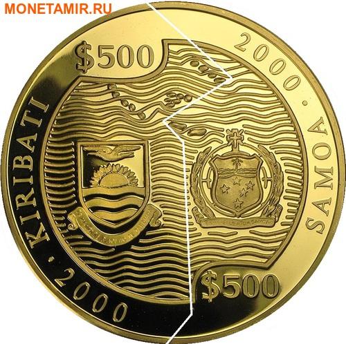 Кирибати 500 долларов Самоа 500 долларов 2000 Война и Мир (Пазл).Арт.54271/11700E/K9G1300E (фото, вид 1)