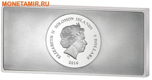 Соломоновы острова 5 долларов 2016 Солнечная система 8 в 1 (Solomon Islands 5$ 2016 Solar System Precious 8 in 1).Арт.001795453576/60 (фото, вид 1)