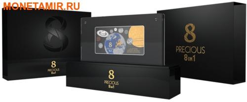 Соломоновы острова 5 долларов 2016 Солнечная система 8 в 1 (Solomon Islands 5$ 2016 Solar System Precious 8 in 1).Арт.001795453576/60 (фото, вид 2)