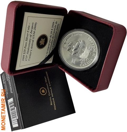 Канада 20 долларов 2009 Жак Картье Корабль.Арт.000958453913/60 (фото, вид 2)