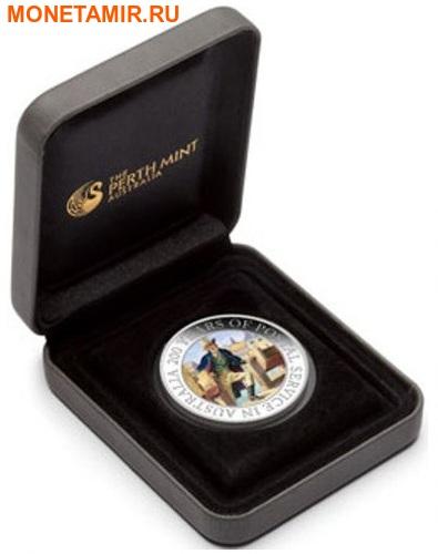 Австралия 1 доллар 2009 200 лет почтовой службе Австралии.Арт.000242253734/60 (фото, вид 2)