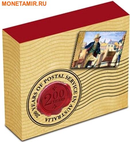Австралия 1 доллар 2009 200 лет почтовой службе Австралии.Арт.000242253734/60 (фото, вид 3)