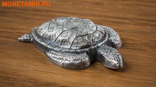 Палау 10 долларов 2017 Морская черепаха.Арт.60 (фото, вид 1)