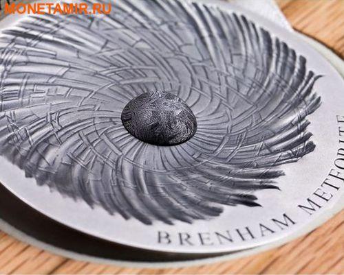 Чад 5000 франков 2016 Метеорит Бренхам - BRENHAM METEORITE.Арт.60 (фото, вид 1)