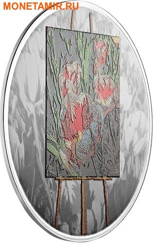 Канада 20 долларов 2017 Художники Канады серия На пленэре Картина Весенние подарки.Арт.60 (фото, вид 1)