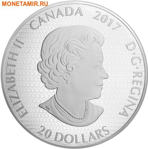 Канада 20 долларов 2017 Художники Канады серия На пленэре Картина Весенние подарки.Арт.60 (фото, вид 3)