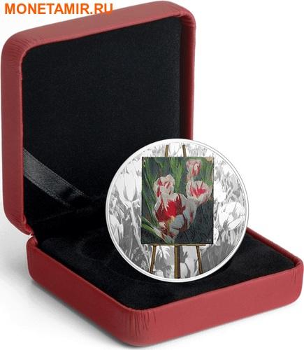 Канада 20 долларов 2017 Художники Канады серия На пленэре Картина Весенние подарки.Арт.60 (фото, вид 4)