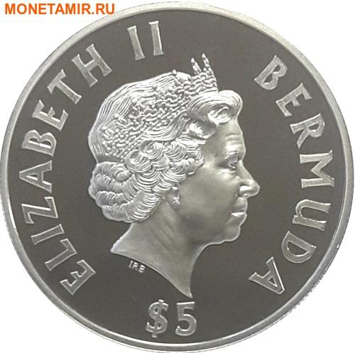 Бермуды 5 долларов 2002 Маяк Святого Давида.Арт.000393953890/60 (фото, вид 1)