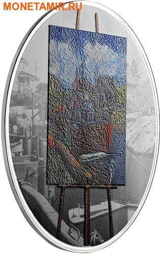 Канада 20 долларов 2017 Художники Канады серия На пленэре Картина Морские воспоминания.Арт.60 (фото, вид 1)