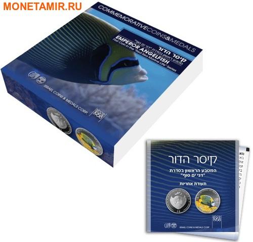 Палау 8х5 долларов 2016 Морская жизнь Красного моря Red Sea Marine Life (набор 8 монет).Арт.60 (фото, вид 3)