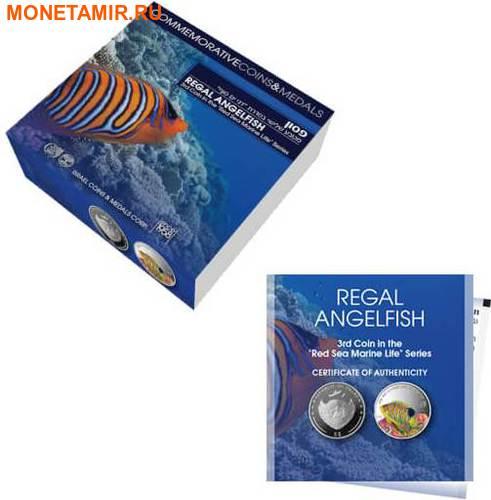 Палау 8х5 долларов 2016 Морская жизнь Красного моря Red Sea Marine Life (набор 8 монет).Арт.60 (фото, вид 7)