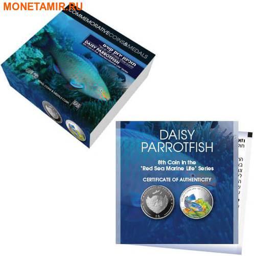 Палау 8х5 долларов 2016 Морская жизнь Красного моря Red Sea Marine Life (набор 8 монет).Арт.60 (фото, вид 9)