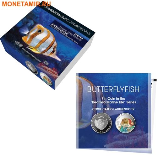 Палау 8х5 долларов 2016 Морская жизнь Красного моря Red Sea Marine Life (набор 8 монет).Арт.60 (фото, вид 17)