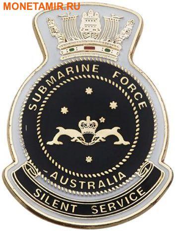 Австралия 1 доллар 2014 Подводная лодка – 100 лет создания подводного флота Австралии (Значок подводников).Арт.000261648172/60 (фото, вид 3)