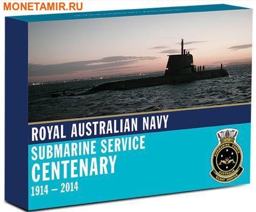 Австралия 1 доллар 2014 Подводная лодка – 100 лет создания подводного флота Австралии (Значок подводников).Арт.000261648172/60 (фото, вид 5)