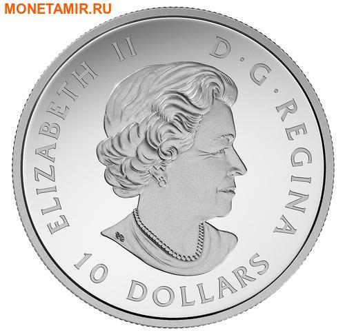 Канада 10 долларов 2017 Бобр с веткой.Арт.60 (фото, вид 1)