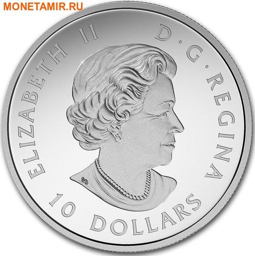 Канада 10 долларов 2017 Маяк Пегги Коув - 150 лет Празднования Канады.Арт.60 (фото, вид 1)