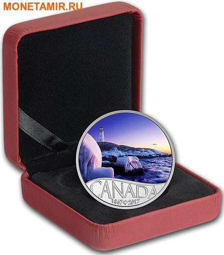 Канада 10 долларов 2017 Маяк Пегги Коув - 150 лет Празднования Канады.Арт.60 (фото, вид 2)