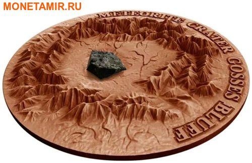 Ниуэ 1 доллар 2017 Метеоритный кратер Госсес Блафф (GOSSES BLUFF Meteorite Crater).Арт.60 (фото, вид 1)