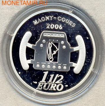 Франция 1 1/2 евро 2006. Гран При (фото, вид 1)