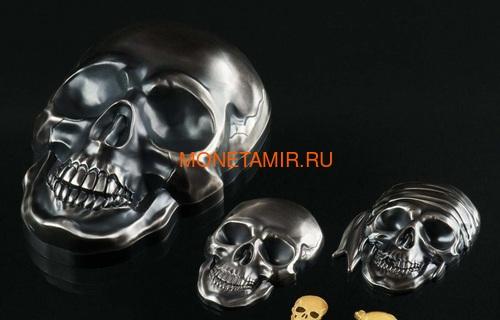 Палау 5 долларов 2017 Череп Пирата (Palau 5$ 2017 Pirate Skull).Арт.60 (фото, вид 3)