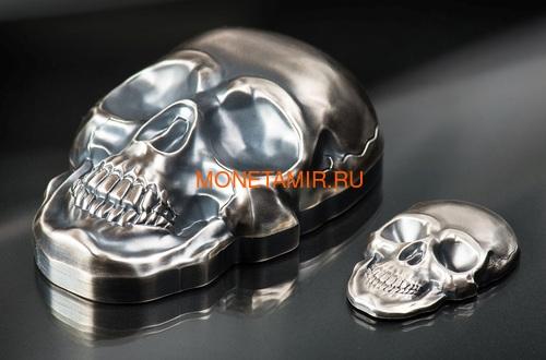 Палау 25 долларов 2017 Большой череп (Palau 25$ 2017 Big Skull).Арт.60 (фото, вид 3)
