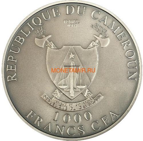 Камерун 1000 франков 2011 Любовь всегда – Лебеди (L`Amour toujours Antique) Голограмма.Арт.000227237050/60 (фото, вид 1)