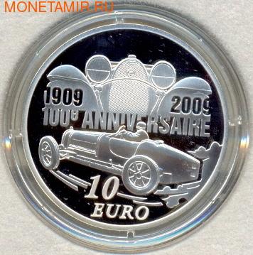 Эторе Бугатти. Франция 10 евро 2009. (фото, вид 1)