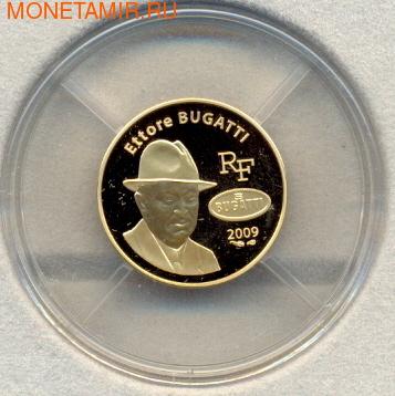 Эторе Бугатти. Франция 50 евро 2009. (фото, вид 1)