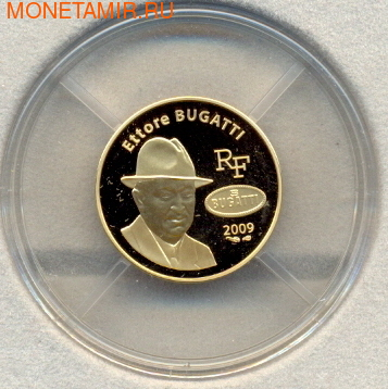 Эторе Бугатти. Франция 50 евро 2009. (фото, вид 2)