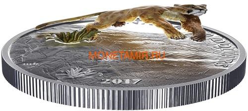 Канада 20 долларов 2017 Пума 3D (Canada 20$ 2017 Puma 3D).Арт.60 (фото, вид 2)
