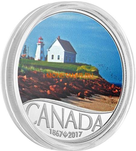 Канада 10 долларов 2017 Остров Панмюр Маяк - 150 лет Празднования Канады (Canada 10C$ 2017 Celebrating Canada's 150th Lighthouse Panmure Island).Арт.000227054452 /60 (фото, вид 1)