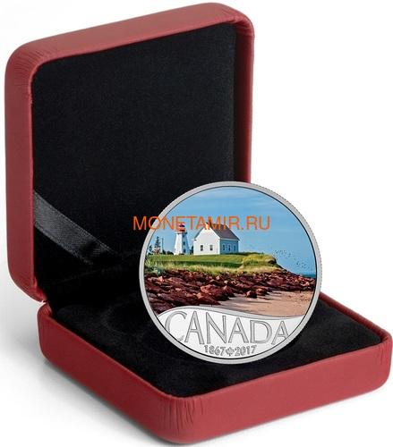 Канада 10 долларов 2017 Остров Панмюр Маяк - 150 лет Празднования Канады (Canada 10C$ 2017 Celebrating Canada's 150th Lighthouse Panmure Island).Арт.000227054452 /60 (фото, вид 3)
