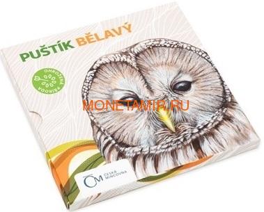Ниуэ 1 доллар 2017 Уральская Сова – Под угрозой исчезновения (Niue 1 dollar 2017 Ural Owl Is endangered) Буклет.Арт.60 (фото, вид 2)