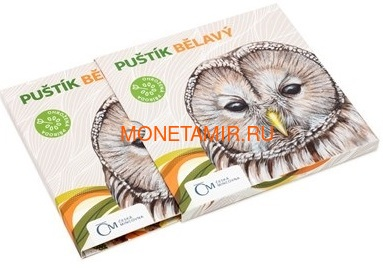 Ниуэ 1 доллар 2017 Уральская Сова – Под угрозой исчезновения (Niue 1 dollar 2017 Ural Owl Is endangered) Буклет.Арт.60 (фото, вид 3)