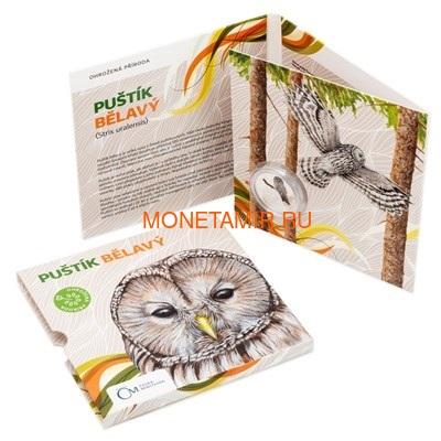 Ниуэ 1 доллар 2017 Уральская Сова – Под угрозой исчезновения (Niue 1 dollar 2017 Ural Owl Is endangered) Буклет.Арт.60 (фото, вид 5)