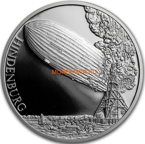 Ниуэ 4х1 доллар 2017 Амелия Эрхарт Чарльз Линдберг Дирижабль Гинденбург Спутник 1 – Век полетов (Самолет Дирижабль Спутник) Niue 4х1 dollar 2017 Century of flight Amelia Earhart Charles Lindbergh Hindenburg Airship Launch of Sputnik 1.Арт.60 (фото, вид 3)