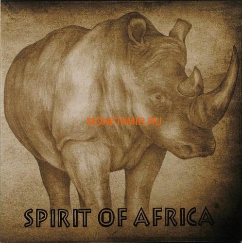 Буркина Фасо 5х1000 франков 2017 Африканские Носороги – Дух Африки (Набор) Burkina Faso 5х1000 francs 2017 African Rhinos – the Spirit of Africa Set.Арт.60 (фото, вид 19)