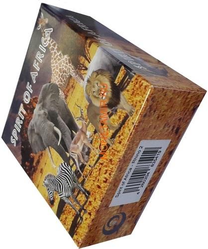 Буркина Фасо 5х1000 франков 2017 Африканские Носороги – Дух Африки (Набор) Burkina Faso 5х1000 francs 2017 African Rhinos – the Spirit of Africa Set.Арт.60 (фото, вид 23)