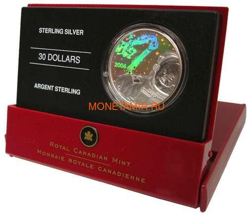 Канада 30 долларов 2006 Канадарм Крис Хэдфилд Космос Голограмма (Canada 30$ 2006 Canadarm Space Hologram).Арт.000462254326/60 (фото, вид 2)