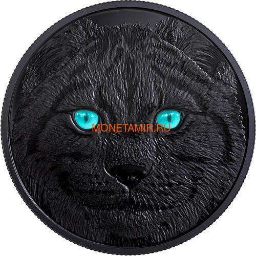 Канада 15 долларов 2017 Рысь (Canada 15$ 2017 Glow-In-The-Dark Coin Lynx).Арт.60 (фото, вид 1)